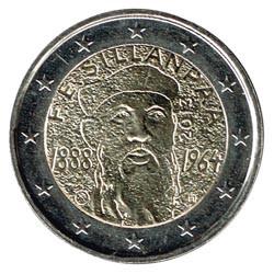 Finlandia 2013 2 Euros 150º Aniv. nacimiento de F.E.Sillanpää S/C