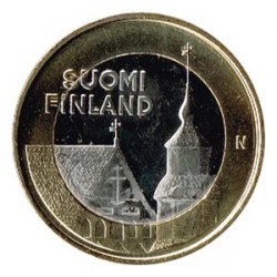 Finlandia 2013 5 Euros Iglesia de San Lorenzo S/C