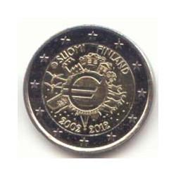 Finlandia 2012 2 Euros 10 Años de Circulación del Euro S/C