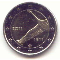 Finlandia 2011 2 Euros 200 Aniv. del Banco de Finlandia S/C
