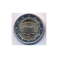 Finlandia 2007 2 Euros Tratado de Roma S/C