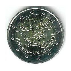 Finlandia 2005 2 Euros ONU S/C