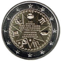 Grecia 2014 2 Euros Islas Jónicas S/C