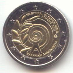 Grecia 2011 2 Euros Juegos Especiales S/C