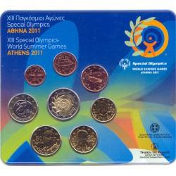 Grecia 2011 Cartera Oficial Special Olimpics S/C