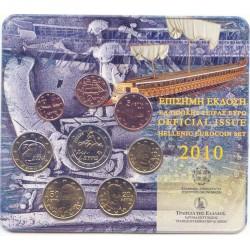 """Grecia 2010 Cartera Oficial """"Rapto de Europa"""" S/C"""