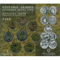 Grecia 2006 Cartera Oficial S/C