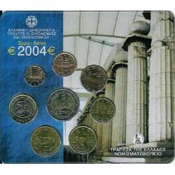 Grecia 2004 Cartera Oficial S/C