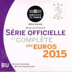 Francia 2015 Cartera Oficial S/C