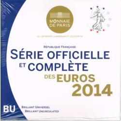 Francia 2014 Cartera Oficial S/C