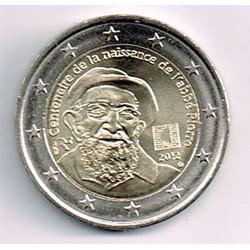 Francia 2012 2 Euros Abad Pierre S/C