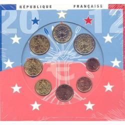 Francia 2012 Cartera Oficial S/C
