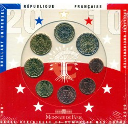 Francia 2010 Cartera Oficial S/C