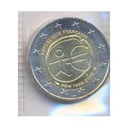 Francia 2009 2 Euros 10º Aniversario del euro. S/C-