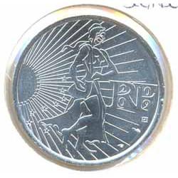 Francia 2009 10 Euros Circulante Plata La Sembradora S/C