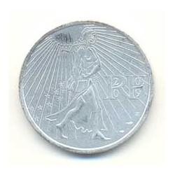 Francia 2009 25 Euros Circulante Plata La Sembradora S/C
