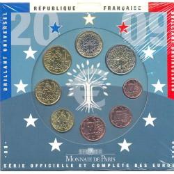 Francia 2009 Cartera Oficial S/C