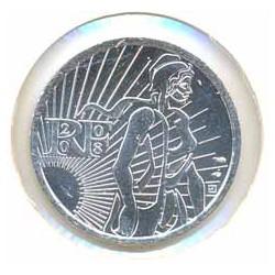 Francia 2008 5 Euros Circulante Plata La Sembradora S/C