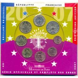 Francia 2007 Cartera Oficial S/C