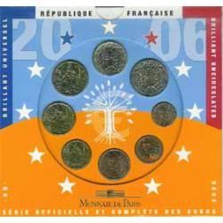 Francia 2006 Cartera Oficial S/C