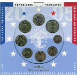 Francia 2005 Cartera Oficial S/C