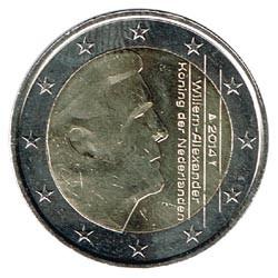 Holanda 2014 2 Euros S/C