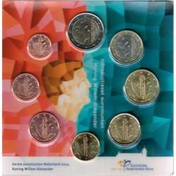 Holanda 2014 Blister 8 valores S/C