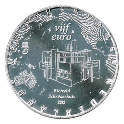 Holanda 2013 5 Euros Rietveld S/C