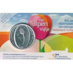 Holanda 2012 5 Euros 400 Años Holanda-Turquía S/C
