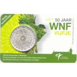 Holanda 2011 5 Euros WWF S/C