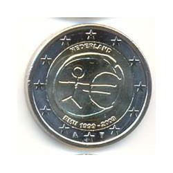 Holanda 2009 2 Euros 10º Aniv. del Euro S/C