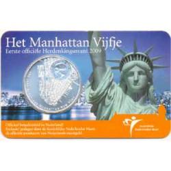 Holanda 2009 5 Euros Manhattan S/C