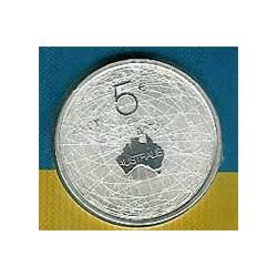 Holanda 2006 5 Euros Australia S/C