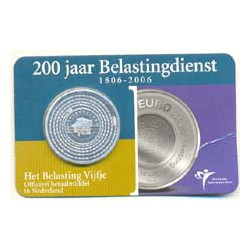 Holanda 2006 5 Euros 200 Aniversario de Hacienda S/C
