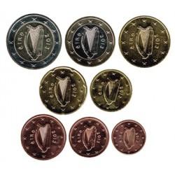 Irlanda 2013 Tira 8 valores S/C