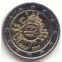 Irlanda 2012 2 Euros 10 Años de Circulación del Euro S/C