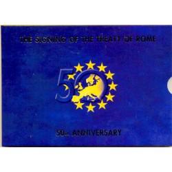 Irlanda 2007 Cartera Oficial Con las 2 de 2 € S/C
