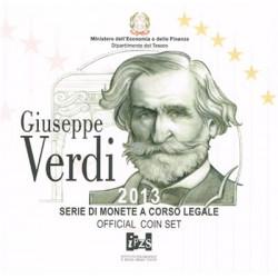 Italia 2013 Cartera Oficial 9 Valores S/C
