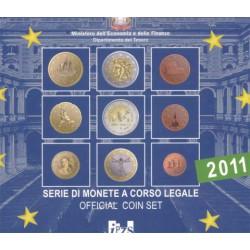 Italia 2011 Cartera Oficial S/C