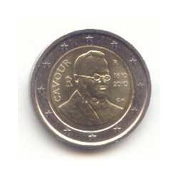 Italia 2010 2 Euros Cavour S/C