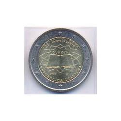 Italia 2007 2 Euros Tratado de Roma S/C