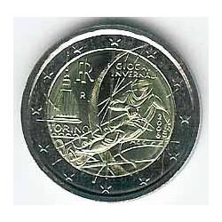 Italia 2006 2 Euros Olimpiadas de Invierno S/C