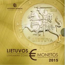 Lituania 2015 Cartera Oficial S/C