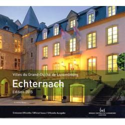 Luxemburgo 2015 Cartera Oficial S/C