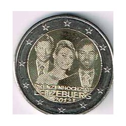 Luxemburgo 2012 2 Euros Boda S/C