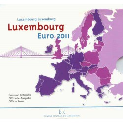 Luxemburgo 2011 Cartera Oficial S/C