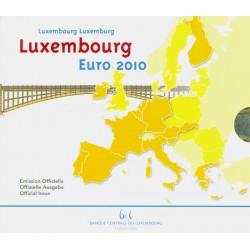 Luxemburgo 2010 Cartera Oficial 9 valores S/C