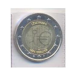 Luxemburgo 2009 2 Euros 10º Aniv. del Euro S/C