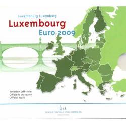 Luxemburgo 2009 Cartera Oficial 10 valores S/C