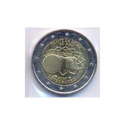 Luxemburgo 2007 2 Euros Tratado de Roma S/C